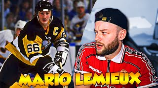 Download lagu The SOCCER FAN Reacts to MARIO LEMIEUX for the FIRST TIME NHL REACTION