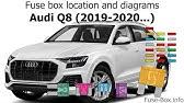 Fuse Box Location And Diagrams Toyota Supra 1995 1998 Youtube