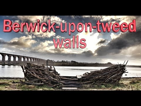 Trail trek Berwick upon tweed walls