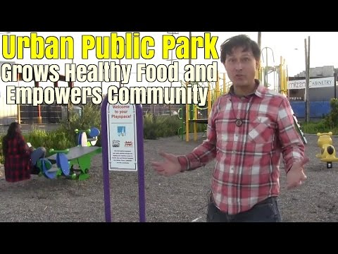 1.4 Acre Urban Public Park Grows Healthy Food & Empowers Community