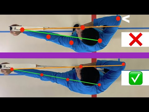 What is shoulder alignment in archery?