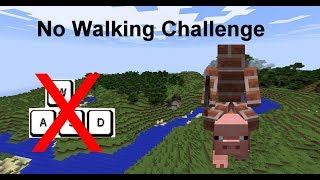 How to beat Minecraft without walking