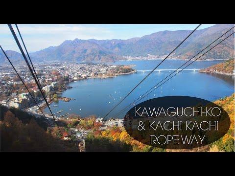 Japan Travel Vlog: Fuji Five Lakes, Kawaguchiko 富士五湖、河口湖・カチカチ山ロープウェイ