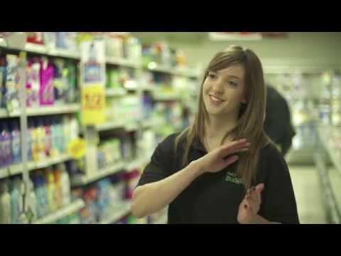 Customer service training video for Touts Budgen