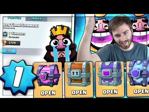LEVEL 1 OPENING ALL CHESTS!   Clash Royale   LOSING EVERY MATCH!?!?