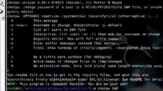 Hack Tutorial 1 - Cracking Local Passwords - Part 3