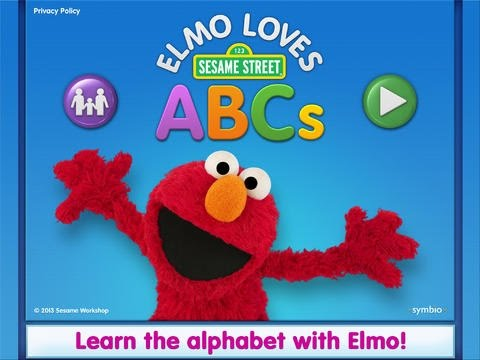Elmo loves abcs lite for ipad best free alphabet for Elmo abc