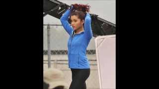 """Ariana Grande: Filming A Scene For """"Swindle"""" In Vancouver, Canada (October 11)"""