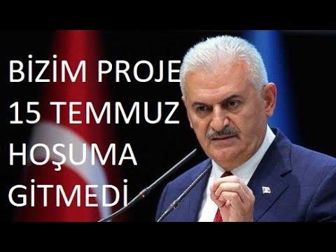 """Darbe - AKP Projesi mi? Binali Yıldırım """"Hoşuma gitmeyen proje 15 Temmuz""""  Bilinçaltı Mesaj"""