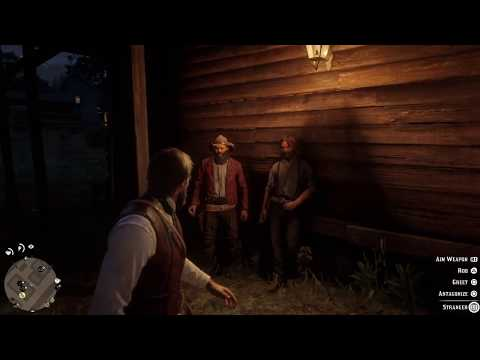 PS4: RED DEAD REDEMPTION II. Quick Draw no dead eye. Free aim