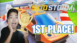 I GOT FIRST PLACE!!! *NOT SPONSORED!* (SkidStorm)