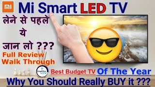 Mi LED Smart TV 4a  UNBOXING (Hindi) | Mi Flash Sale | Best LOW  Budget TV | Kapchalife