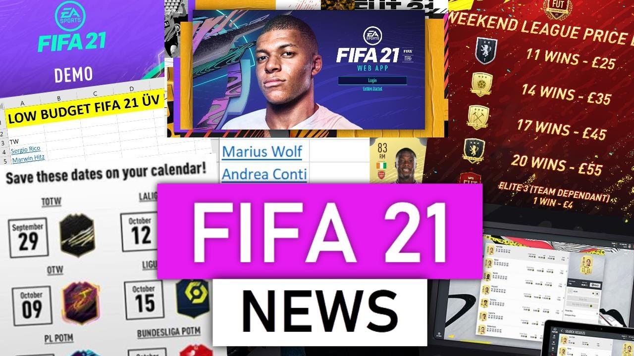 WICHTIG ... FIFA 21 ULTIMATE TEAM NEWS! ? Web App | Demo | ÜV Liste | Ratings | Datenbank