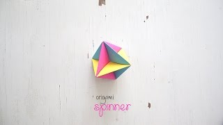 DIY: Origami Spinner