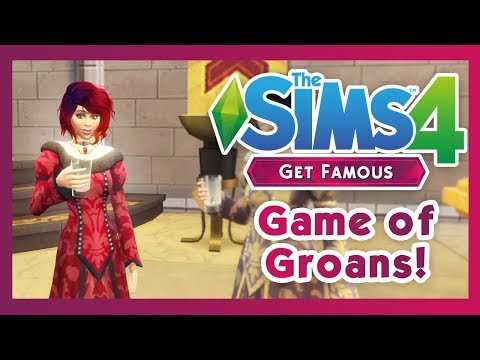 The Sims 4: Get Famous - Amanda u Game of Thrones! Road to fame #15 thumbnail