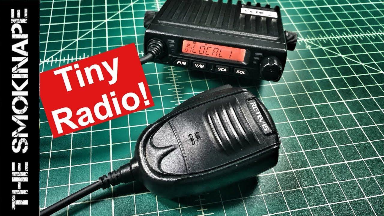 Retevis RT98 UHF HAM Radio Review - TheSmokinApe