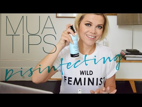 MUA Tips: How to Disinfect your makeup..Mascaras, liners, shadows, you name it