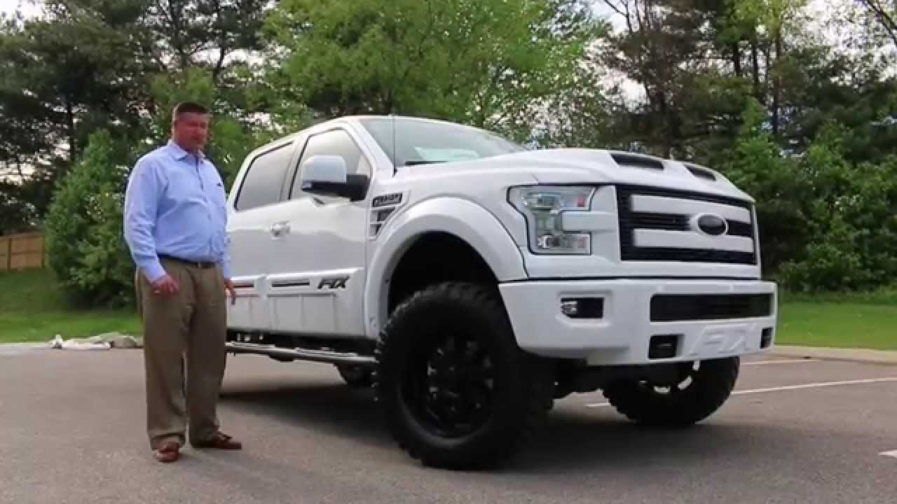 2015 f150 ftx black out lifted fully loaded by tuscany black ops package on ftx youtube - White Ford F150 Lifted