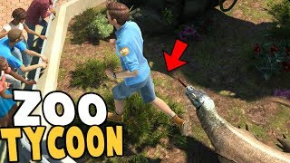 Climbing into Exhibits in Zoo Tycoon Ultimate Animal Collection! ☑ ...