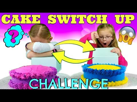 CAKE SWITCH UP CHALLENGE!!!