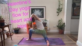 Valentine's Day yoga flow