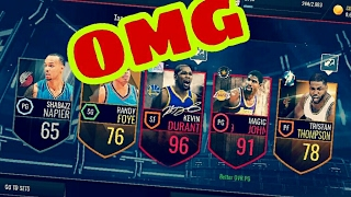 TOP 30 Incredible Pack in NBA LIVE MOBILE! #8