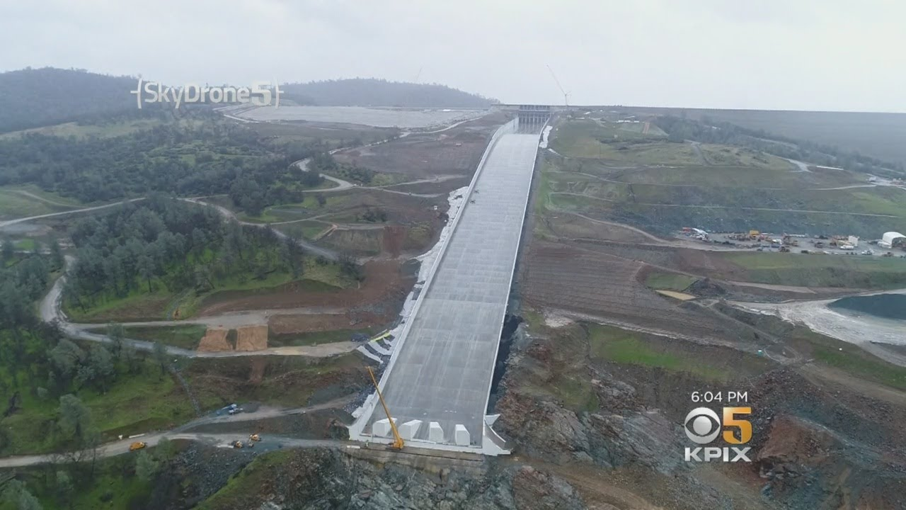 Rebuilt Oroville Dam Spillway Appears To Be Nearing 1st Test