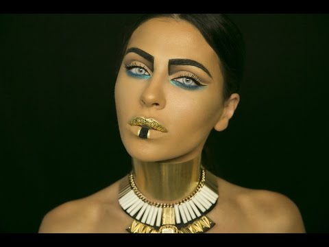 PHARAOH: HALLOWEEN MAKEUP TUTORIAL