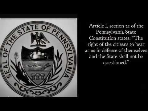 Pennsylvania house bill 768 Firearms Registration Act 2019