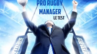 Pro Rugby Manager 2015 - Test du jeu | PC
