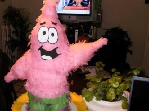 Piñata Bob Esponja Youtube
