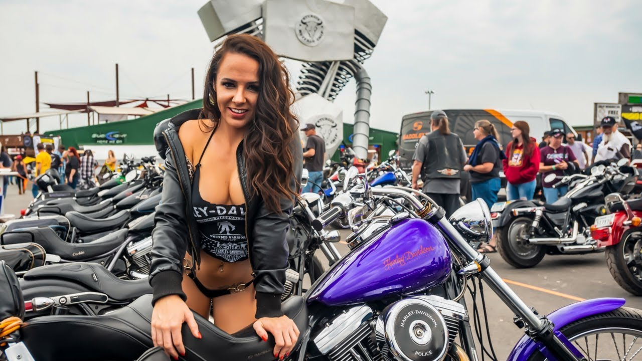Black bike week naked women
