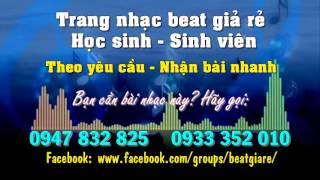 Beat Tiếng hát những đêm không ngủ - Nam Khánh có bè (Nhạc beat HS-SV)
