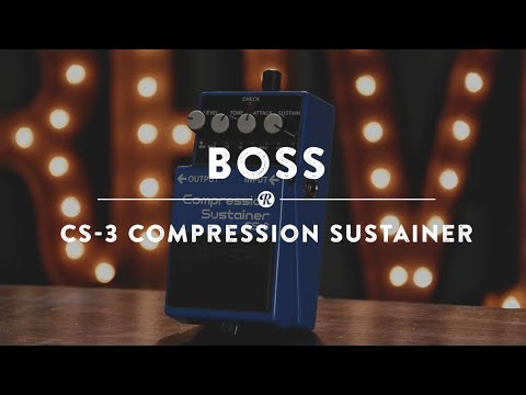 Boss CS-3 Compression Sustainer | Reverb Demo Video