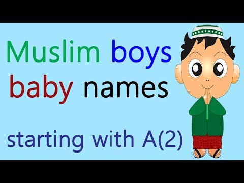 Muslim names starting with a for boy