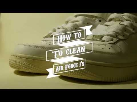 How to clean AF1's in less than 2 minutes!   iMoura
