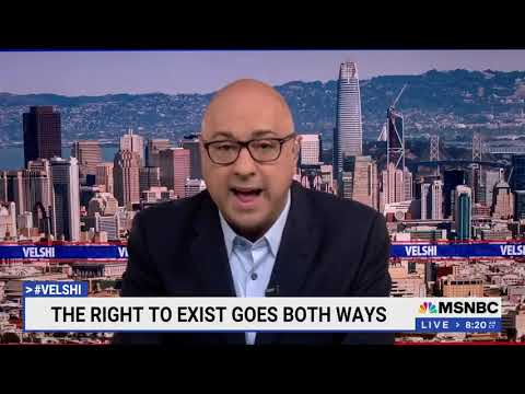 CAIR Video: MSNBC's #Velshi Condemns Israel's Apartheid, Ethnic Cleansing, Human Rights Violations