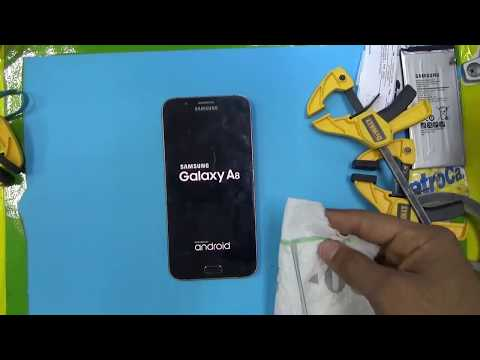 REMOVER LCD and Battery  SAMSUNG GALAXY A8