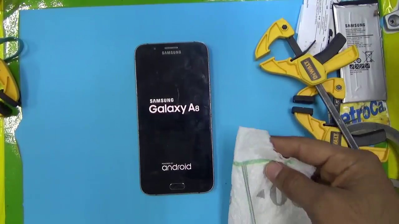 wholesale dealer b4549 a6252 REMOVER LCD and Battery SAMSUNG GALAXY A8