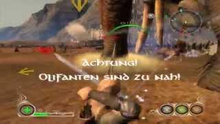 Lets Play Der Herr Der Ringe Die Eroberung Part 6 Eine Große Schlacht auf den Feldern!