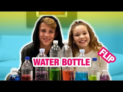 Thumbnail: Water Bottle Flip Challenge! (MattyBRaps vs Sierra Haschak)