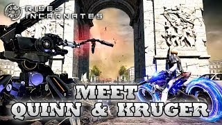 Rise of Incarnates - PC - Meet Erendira Quinn & Reinhold Kruger (E3 2014 Trailer)