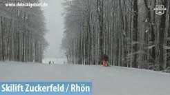 Skilift Zuckerfeld / Rhön: Hauptpiste