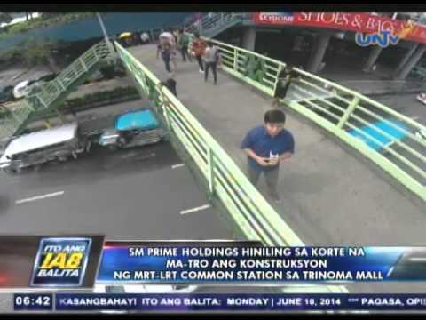 SM Prime Holdings, hiniling sa korte na ma-TRO ang konstruksyon ng MRT-LRT Common Station sa Trinoma