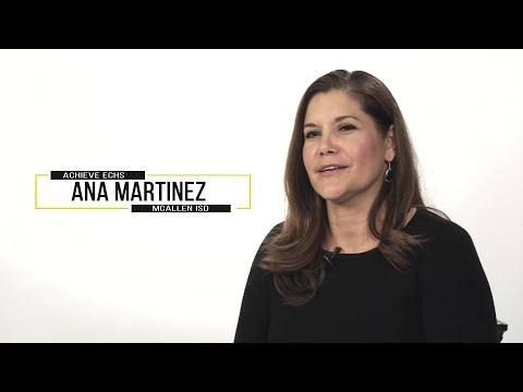 Ana Martinez, 2019 Teacher of the Year from Achieve Early College High School