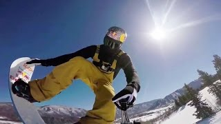 Red Bull: Twin Superpipe Course POV w/ Greg Bretz - Red Bull Double Pipe