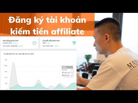 Kiếm tiền tiktok affiliate cách đăng ký tài khoản accesstrade