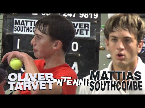 Mattias Southcombe V Oliver Tarvet :LTA Mens Open Grade 3 Sutton SuperSeries Final