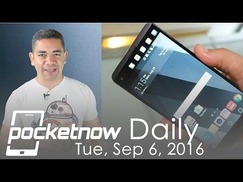 LG V20 announced, Google Pixel XL details & more - Pocketnow Daily
