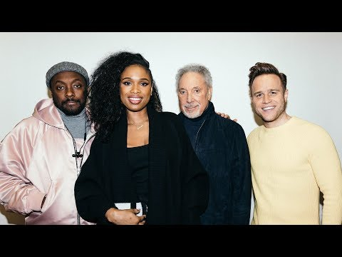 Will.I.Am, Jennifer Hudson, Sir Tom Jones and Olly Murs Talk 'The Voice'
